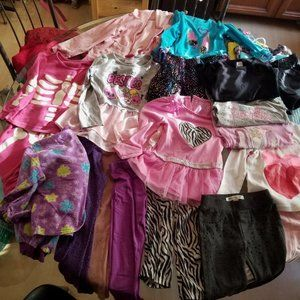 Other - Table top lot Girl's clothes Size 5 Various